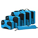 Best Travel Luggage Sets - FOREGOER 6 Set Packing Cubes Travel Luggage Organizers Review