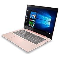 """Lenovo Ideapad 520S-14IKB - Portátil de 14"""" FullHD IPS (Intel Core i3-7100U, 4 GB de RAM, disco duro SSD de 128 GB, Intel HD Graphics 620, Windows 10 Home), rosa - Teclado QWERTY Español"""