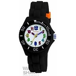 TK0016 Childrens Tikkers Black Strap Watch