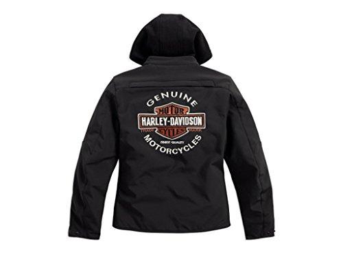 Preisvergleich Produktbild Harley-Davidson Legend 3-in-1 Soft Shell Riding Damen Jacke,  98170-17EW,  XL-LADY