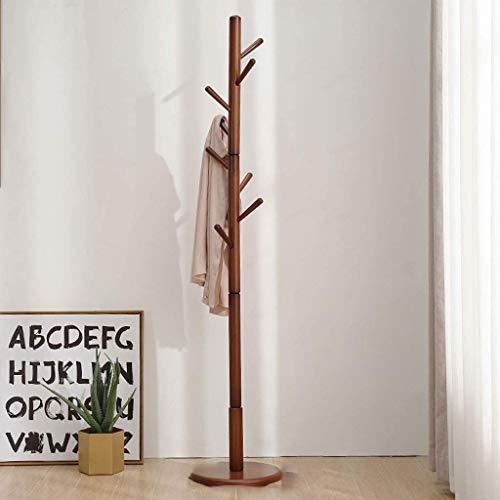 Haya capa rack piso dormitorio percha simple solo polo sala de estar percha de madera percha de ropa disponible en cinco colores,Orange