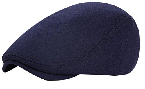 Leisial Sombreros Gorras Boinas con Algodón Ocio Retro Hat Cap Sombrero de Sol Deporte al Aire Libre Primavera Verano para Unisex Hombre Mujer