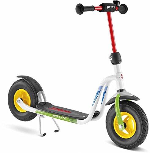 Puky 5219 R 03 L Scooter, Weiß/grün
