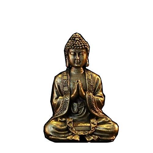Zen Light Buda meditación Dorada Figura...