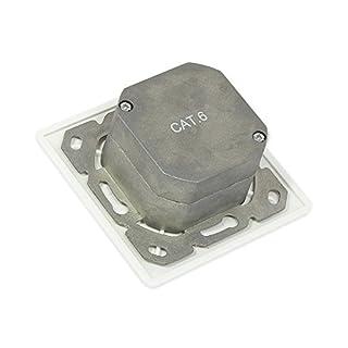 ALCASA gc-n0026RJ White Socket-Outlet–Socket-outlets (80mm, 80mm)