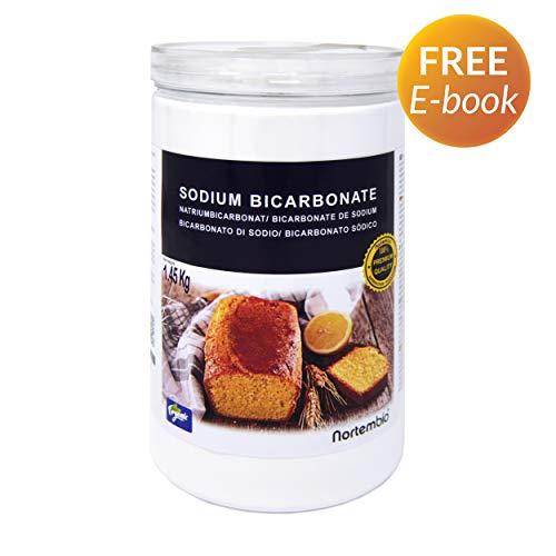 NortemBio Bicarbonato de Sodio 1,45 Kg. Grado Alimentario Producto CE.