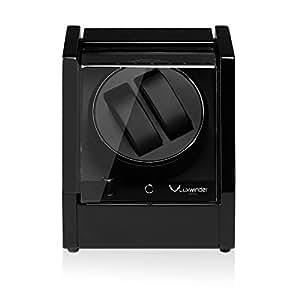 luxwinder omikron uhrenbeweger f r 2 automatikuhren schwarz 801011 uhren. Black Bedroom Furniture Sets. Home Design Ideas