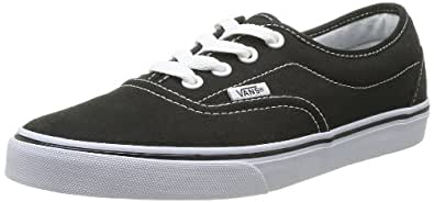 Vans Lpe Canvas, Unisex-Adults' Trainers, Black/White, 3 UK