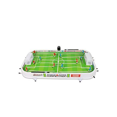 GLJJQMY Kinder Tischfußball Tisch Spielzeug 3 Desktop 6 Jahre 7 Spielmaschine Doppelschlacht 9 Intellektuelle Entwicklung 10 Jungen 61x35cm Lernspielzeug für Kinder