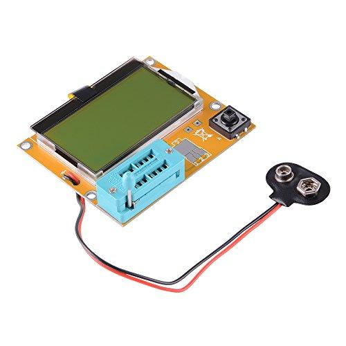 XCSOURCE LCR-T4 multifunzione Tester Diodo Triodo transistor Mega328 SCR capacità di induttanza di Meter ESR con grande retroilluminato LCD 12864 TE641