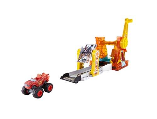Blaze y los Monster Machines- Superlooping de Acrobacias (Mattel Spain DTK34)