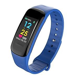 KPulsmesser Smart Sport Armband Blutdruck Pulsmesser Schlaf Schrittzähler Wasserdichte Uhr Optional Farbe ScreenPulsmesser