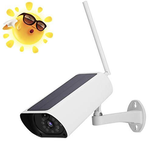 Solarbetriebene Kamera, 1080P Sicherheit WiFi Kugel Kamera, IP 66 wasserdicht Überwachungskamera, Pir Bewegungserkennung, Echtzeit Zweiwege Audio für den Außen/Heimgebrauch Wireless-usb-kamera Im Freien