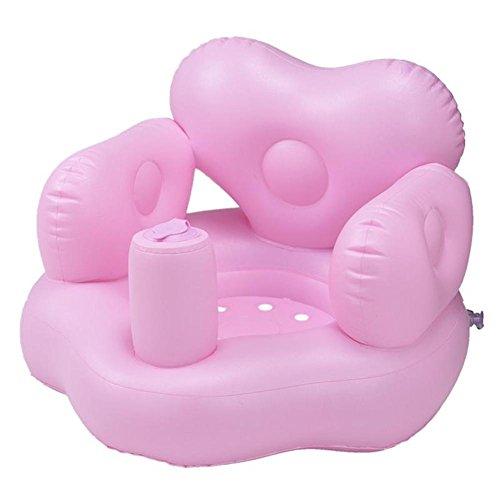 Baby Aufblasbarer Stuhl PVC Baby-Badesitz Tragbarer Sofa Stuhl für Kleinkind