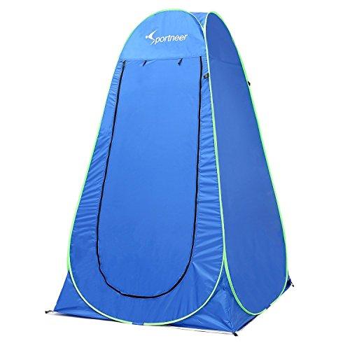 Sportneer 16cm Portable Pop Up Zelt Umkleideraum Zelt Privatsphäre Zelte mit Tragetasche für Camping Foto schießen