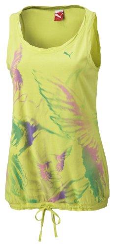 Puma Débardeur T-shirt, Organic Cotton Vert - jaune citron