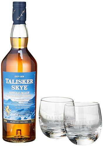 Talisker Skye mit 2 Gläsern Single Malt Whisky (1 x 0.7 l)