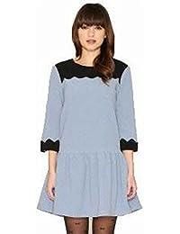 6183e6b2fa Pepaloves Vestido Irene Azul Pepa Loves Talla S (38 40)