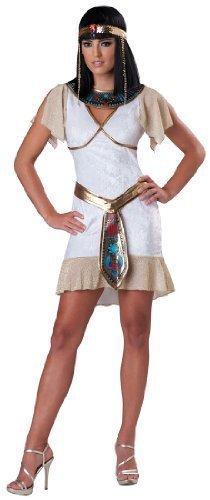 Fancy Me Teenage Mädchen 5 Stück Kleopatra Ägyptische Königin Historisch Halloween Kostüm Kleid Outfit 12-17 Jahre - 16-17 - Halloween Teenage Kostüm
