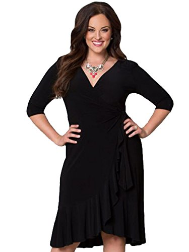 Blooming Jelly - Robe - Femme XX-Large Noir