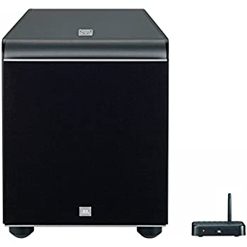 "JBL ES250PW 400-Watt 300 mm (12"") Wireless Bluetooth Aktiver Subwoofer mit Fernbedienung - Schwarz"