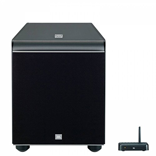 JBL ES250PW  Caisson de Basses de 400-Watt 300 mm (12'') Sans Fil Bluetooth - Noir