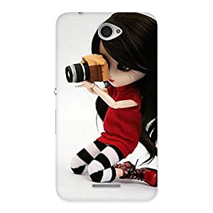 Gorgeous Dolly Pic Multicolor Back Case Cover for Sony Xperia E4