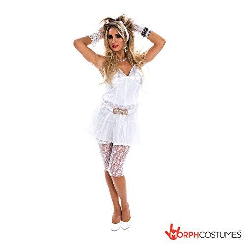 80er Retro Diva (Größe Jahre 80er Kostüm Plus)