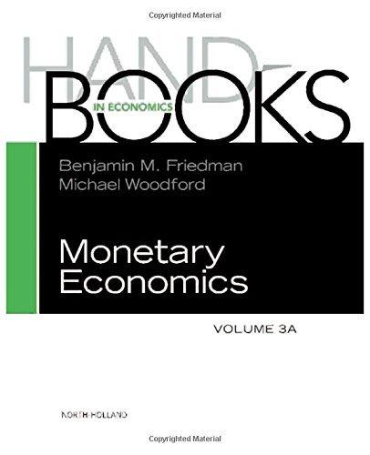 Handbook of Monetary Economics 3A, Volume 3A (2010-12-01) par unknown