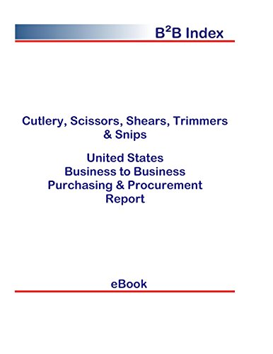 Cutlery, Scissors, Shears, Trimmers & Snips United States: B2B Purchasing + Procurement Values in the United States