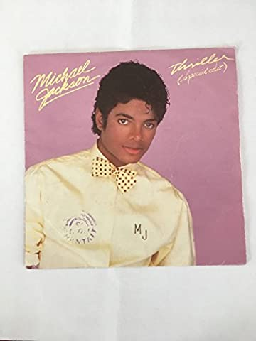 VINYLE 45 T : MICHAEL JACKSON : THRILLER, THINGS I DO FOR YOU