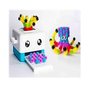Bunchems- BunchBot Crea, Multicolore, 6036070 & 6026103 Mega Pack, 400 pz, Modelli Assortiti 2 spesavip