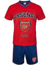 Arsenal FC officiel - Ensemble de pyjama court thème football - homme
