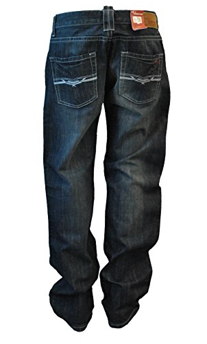 Destroyed Herren Paint Used-Look Blue Blau Jeanshose Hose Denim Chino A15
