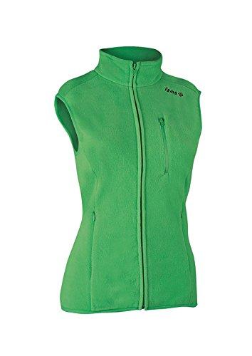 Izas Lenana Forro Polar Chaleco, Mujer, Green, XL