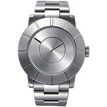 Issey Miyake SILAS001 - Reloj , correa de goma color plateado