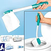 OUNONA Toilet Plunger Kitchen Sink Waste Pipe Unblocker Cleaner Blue Sky Blue