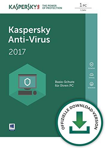 Kaspersky Anti-Virus 2017 Download - [Online Code]