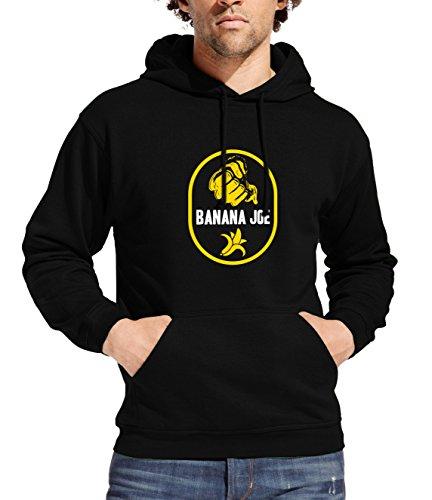 Banana Joe Original Hoody Kapuzen-Sweatshirt No1 schwarz XXL