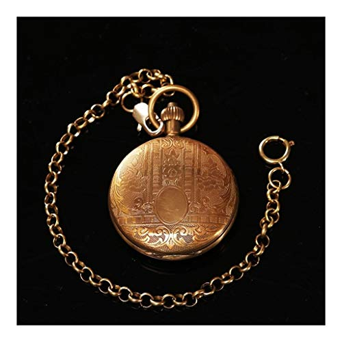 Taschenuhr Jue, Klassische Vintage Geschnitzte reinem Kupfer mechanische, besten Geburtstag, Urlaub Gedenkgeschenke, Männer und Frauen antike Uhr