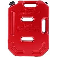 Homyl Lata de Combustible de Gasolina 10 litros Plástico Acecsorio Deportivo Duro - rojo