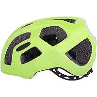Leo565Tom Casco de Bicicleta de Carretera MTB Casco de Ciclismo Adulto Hombre Mujer Ultraligero Transpirable Casco de Seguridad tamaño Ajustable 55-60 cm, Verde