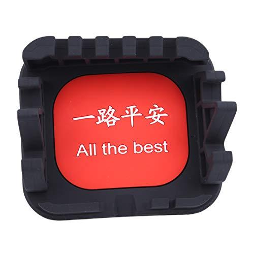 Beafavor Auto Anti Slip Pad Gummi Mobile Stick Armaturenbrett Regal Für Auto DVR Rutschfeste Matte Halter (Schwarz + Rot + Weiß) (Dvr-regale)