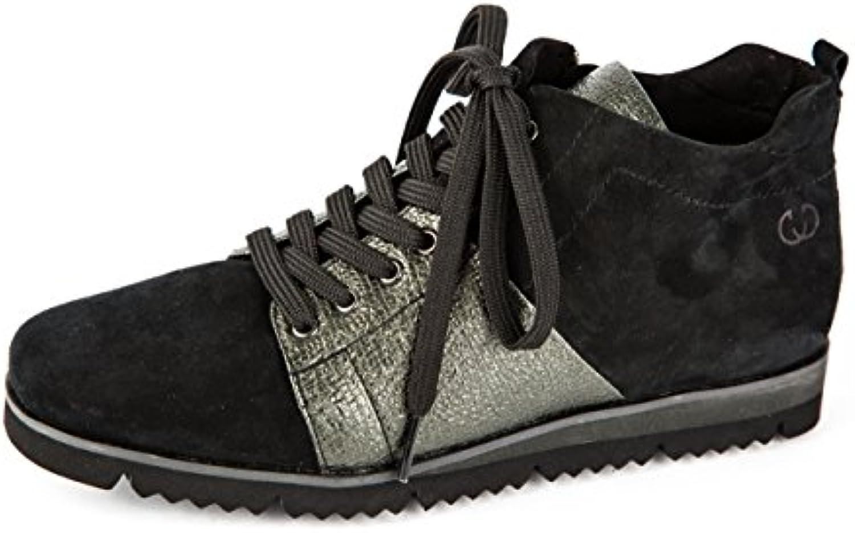 Gerry Weber Damen Komfort Sneaker Mid Schwarz
