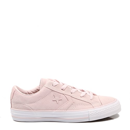 Converse Unisex-Kinder Star Player Ox Fitnessschuhe Pink Barely Rose/White 653, 38 EU (Kinder Converse Pink)