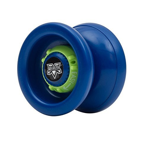YoYoFactory Velocity (Blue with Lime Green Dial) by YoYoFactory