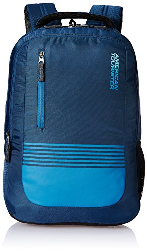American Tourister 32 Ltrs Blue Laptop Backpack (AMT AERO LAPTOP BKPK 01 - BLUE)