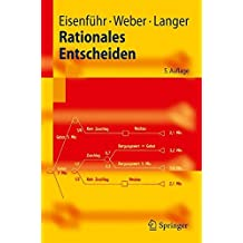 Rationales Entscheiden (Springer-Lehrbuch) (German Edition)