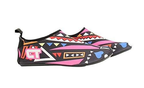 Chaussures de Sport Chaussures Eau Treadmill Chaussures de Randonnée Chaussures de Yoga Doux rouge