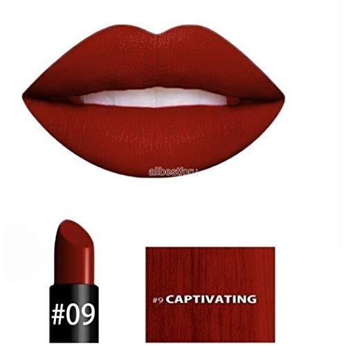 Sisaki 10 Farben Samt Matte Lippenstift Moisture Farbreiche lang anhaltende